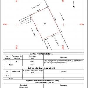 Baneasa - Aleea Teisani, lot teren pentru casa, comision 0