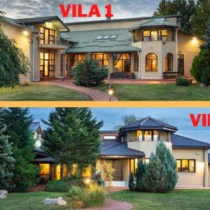 Domeniu cu 2 case superbe pentru 2 familii - Parc propriu si teren de 5000 mp