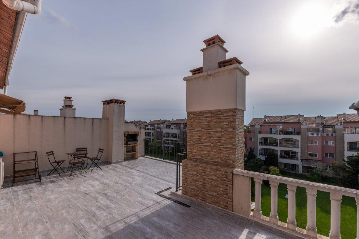 Pipera Ibiza Sol, terasa 41mp, boxa si 2 locuri de parcare