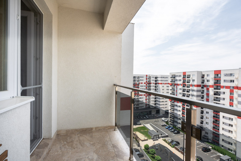 Ready to move - apartament 2 camere nou, complet mobilat si utilat. Plus parcare