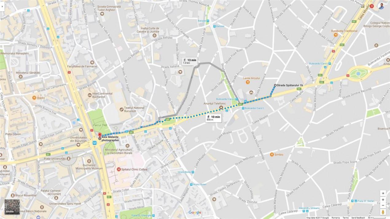Armeneasca 10 minute de Universitate metrou pozitie ultracentrala.