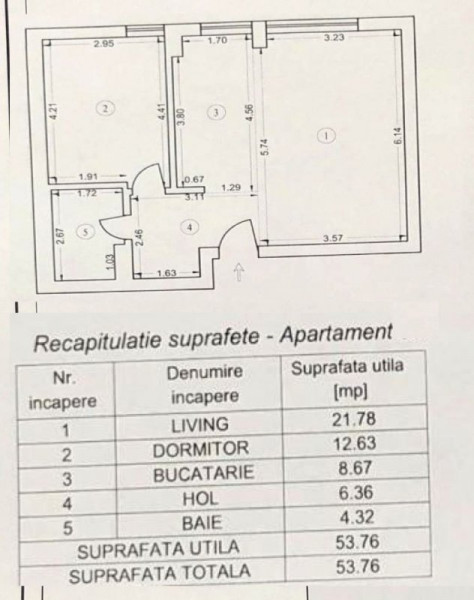 Atria Urban Resort apartament la parter !