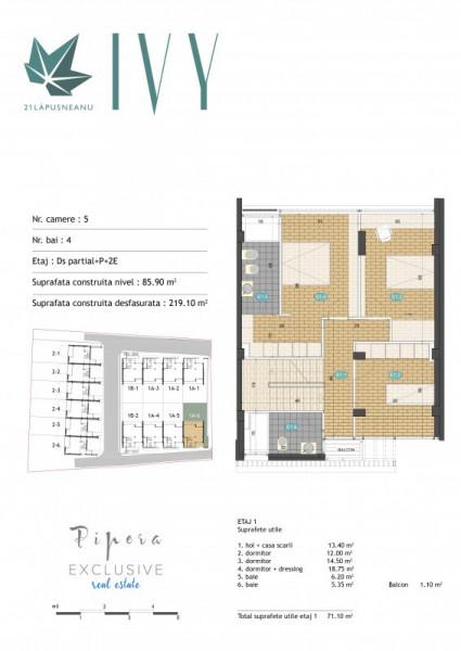 Alege o casa nou nouta, 4 dormitoare, la 5 min de ZOO, miniansamblu!